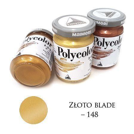 Farba akrylowa metaliczna złoto blade 140 ml – MA01065