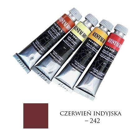 Farba Restauro 20ml, 242 - czerwień indyjska – MA0242