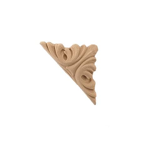 Ornament narożnik  z pyłu drzewnego F571113