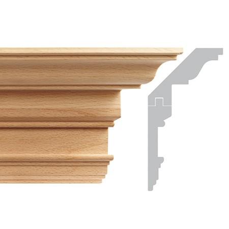 listwa, gzyms drewniany rzeźbiony EM00417