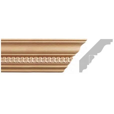 listwa, gzyms drewniany rzeźbiony EM00401