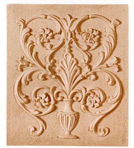 Ornament Panel z pyłu drzewnego F560171
