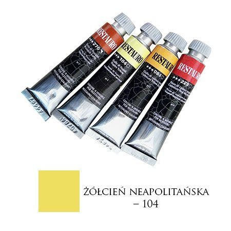 Farba Restauro 20ml, 104 - żółcień neapolitańska – MA0104