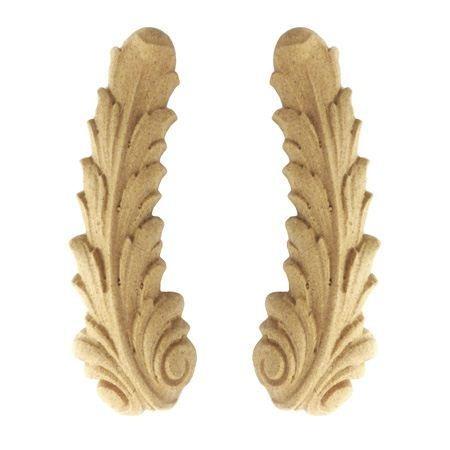Ornament dekor z pyłu drzewnego  prawy F560715P