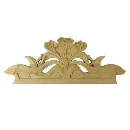 Ornament , korona meblowa ręcznie rzeźbiona  WY00062