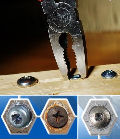 Szczypce do wykręcania śrub  – DK717807