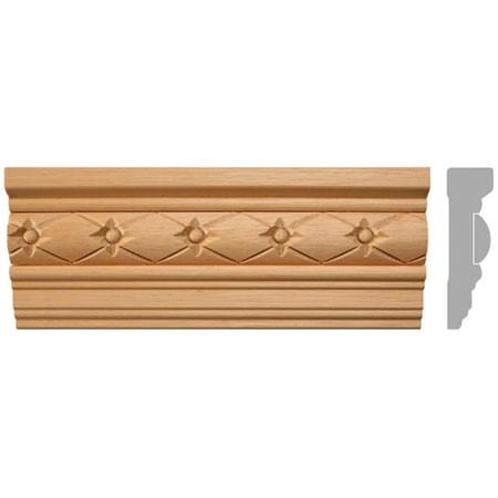 listwa, gzyms drewniany rzeźbiony EM00298
