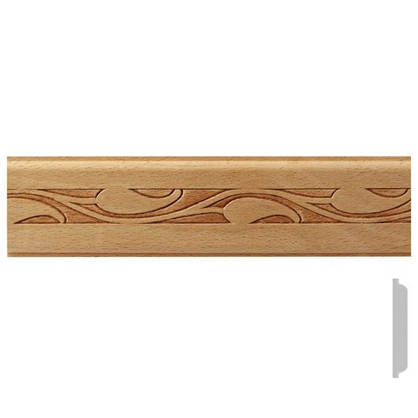 listwa drewniana ozdobna z wzorem EM00517