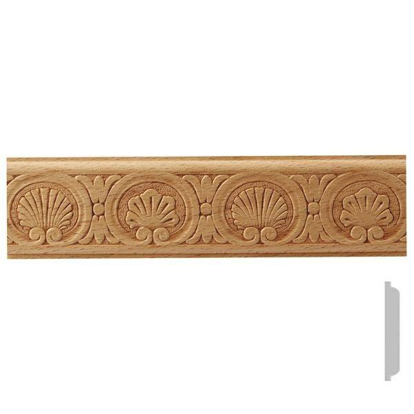 listwa drewniana ozdobna z wzorem EM00515