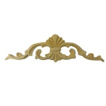 Ornament, korona  drewniana ręcznie  rzeźbiona  WY00026