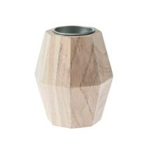 Świecznik drewniany – L00098
