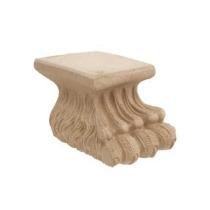 Noga do mebli z pyłu drzewnwgo  F560081