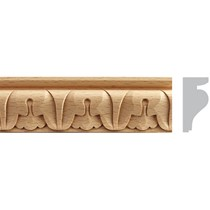 Listwa drewniana rzeźbiona  EM00205