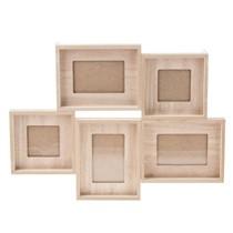 Multirama drewniana na 5 zdjęć – L00094