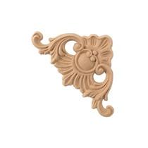 Ornament narożnik  z pyłu drzewnego F570227