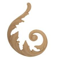 Ornament aplikacja z pyłu drzewnego F560183L