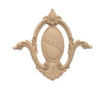 Ornament ,kartusz z pyłu drzewnego  F560086