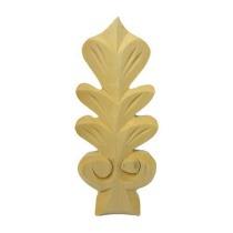 Ornament , dekor drewniany ręcznie rzeźbiony  WY00053