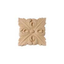 Ornament kwadratowy z pyłu drzewnego F560012