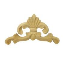 Ornament , dekor  drewniany ręcznie rzeźbiony  WY00027