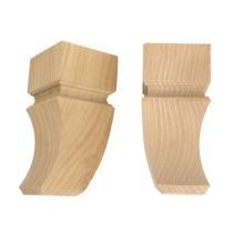Noga drewniana F990032