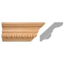 listwa, gzyms drewniany rzeźbiony EM00292