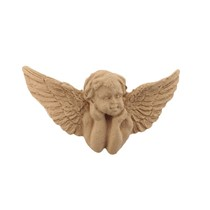 Ornament z pyłu drzewnego, aniołek – F572036