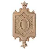 Ornament, kartusz z pyłu drzewnego F560082