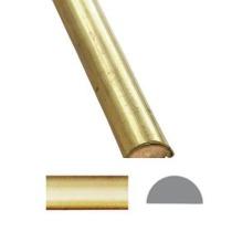Listwa mosiężna z rdzeniem drewnianym  55004.00700.66