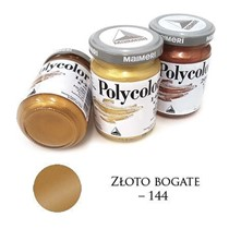 Farba akrylowa metaliczna złoto bogate 140 ml – MA01064