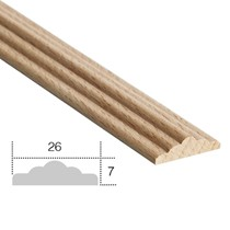 listwa drewniana ozdobna EM00608L