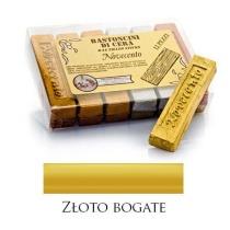Pałeczka woskowa metaliczne złoto bogate – M01066