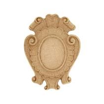 Ornament ,kartusz z pyłu drzewnego F560103