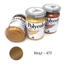 Farba akrylowa metaliczna brąz 140ml – MA01067