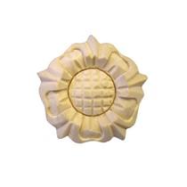 Ornament , Rozeta drewaniana ręcznie rzeźbiona  WY00055