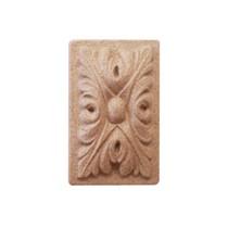 Ornament prostokątny z pyłu drzewnego F560354