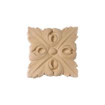 Ornament kwadratowy z pyłu drzewnego F560011