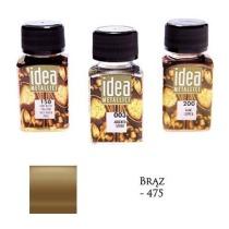 Farba metaliczna IDEA brąz 60ml – MA07096