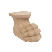 Ornament Noga z pyłu drzewnego F560135