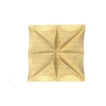 Ornament , aplikacja  drewniana ręcznie rzeźbiona  WY00052