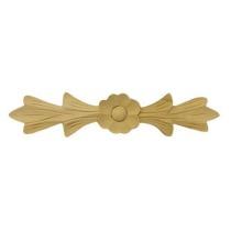 Ornament , aplikacja  drewniana ręcznie rzeźbiona WY00037