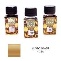 Farba metaliczna IDEA złoto blade 60ml – MA07092