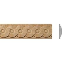 Listwa drewniana rzeźbiona  EM00232