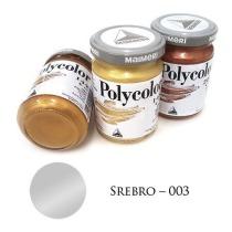 Farba akrylowa metaliczna srebro 140 ml – MA01062