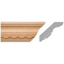 listwa, gzyms drewniany rzeźbiony EM00290