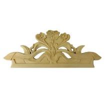 Ornament , korona drewniana ręcznie rzeźbiona  WY00062