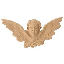Ornament z pyłu drzewnego, aniołek F571120